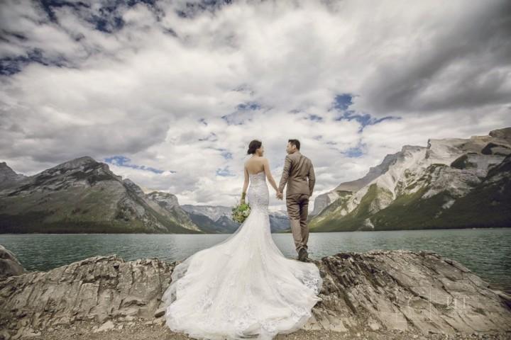 加拿大婚紗 Banff prewedding
